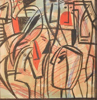 Hofmann, Veit, Für O Mandelstamm, Farboffset, 1985, 177-200, 36x35 cm / 80 Euro