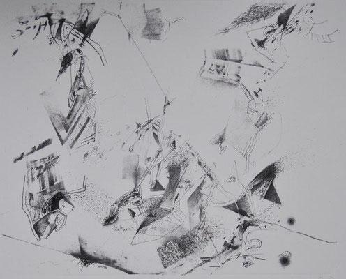 Ranft, Thomas, gigno, Lithographie, 1984, 36,5 x 46,0 cm / 80
