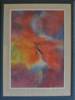 Arenz, R., o.T., Aquarell, 1999, 50,0 x 34,0 cm / 150 Euro