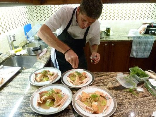 Chef à domicile, chef à la maison, chef à domicile Grasse, Cours de cuisine à domicile, cours de cuisine Grasse, Chef Tristan Pontoizeau