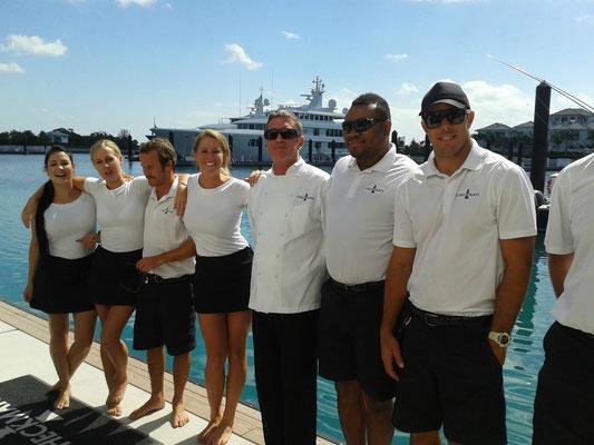 Chef yacht, chef yachting, sole chef, Chef Tristan Pontoizeau