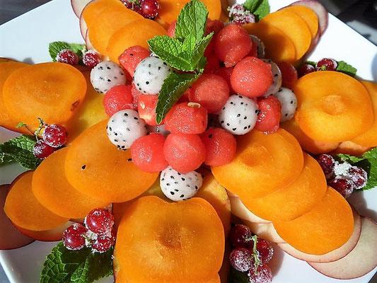 Plateau de fruits, Chef à domicile, chef à la maison, chef à domicile Grasse, Cours de cuisine à domicile, cours de cuisine Grasse, Chef Tristan Pontoizeau