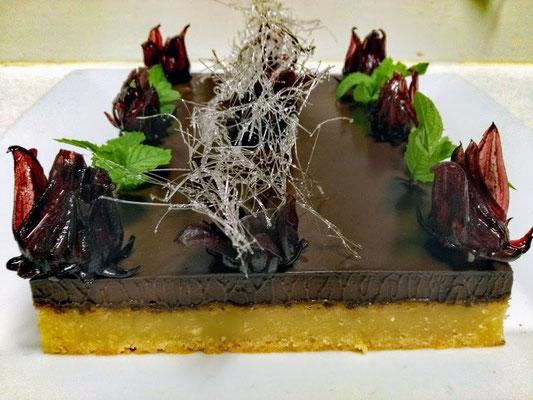 Gateau moelleux amande chocolat, Chef à domicile, chef à la maison, chef à domicile Grasse, Cours de cuisine à domicile, cours de cuisine Grasse, Chef Tristan Pontoizeau