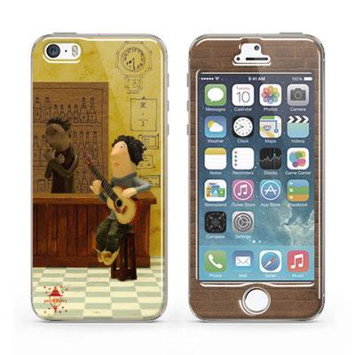 iPhone プロテクターシール