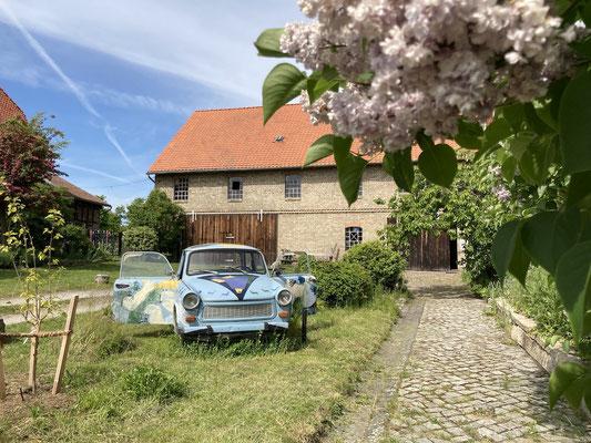Kunstmühle Veckenstedt Außenansicht