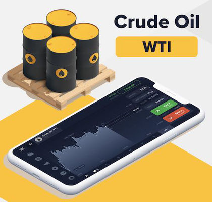 iq option materie prime crude oil wti