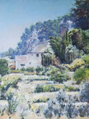 Im Mittagslicht ( Mallorca ), Acryl | 80 x 60 cm | 2009