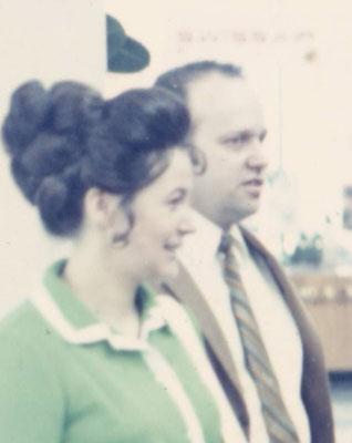 Johanna und Kurt Bergmann, meine Eltern um 1968