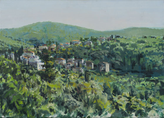 Blato (Korcula), Öl | 50 x 70 cm | 2010