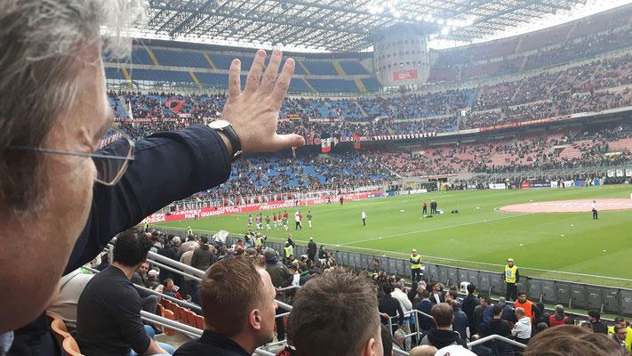 In Mailand, San Siro Stadion, 2018