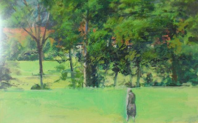 """Nachsinnen"", Acryl, 60x70cm, 2014"