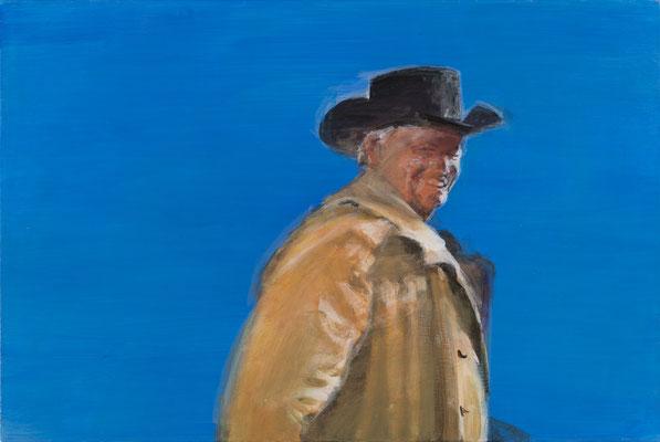 """"""" Zuversicht"""" (aus:""""Sacramento""""), Acryl, 50x40cm, 2014"""