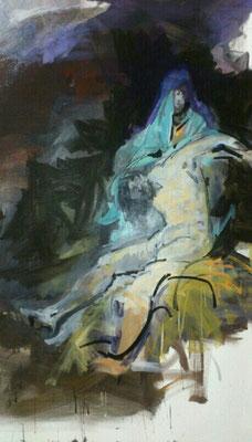 Pieta, Acryl | 120 x 90 cm | 2018