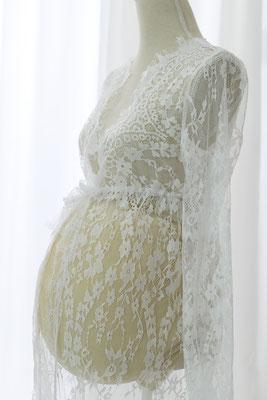 Schwangerschaftskleid, Babybauchkleid, Babybauchshooting, Babybauchfotos, Studiokleid, Fotostudio, Shootingkleid, Spitze, Boho, Sommerkleid
