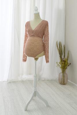 Schwangerschaftskleid, Babybauchkleid, Babybauchshooting, Babybauchfotos, Studiokleid, Fotostudio, Shootingkleid, Spitze, Body, Schwangerschaftsbody