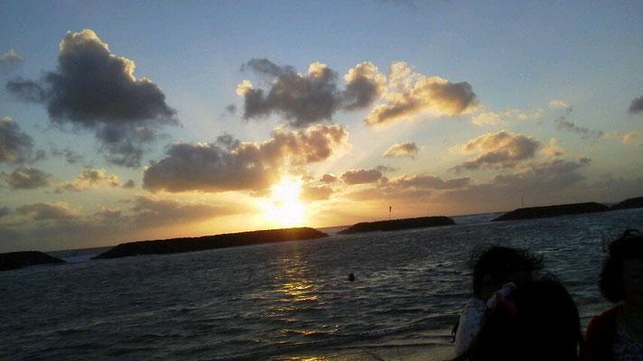 ハワイの夕日(2日目)