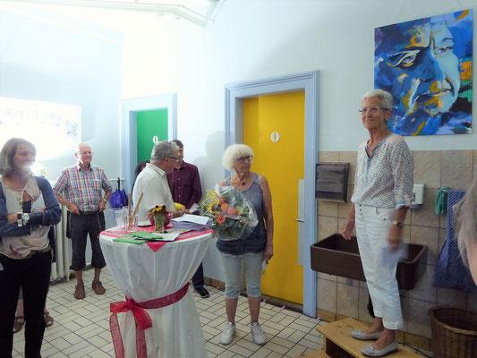Vernissage Eröffnung, Käthi Kamm, Petra