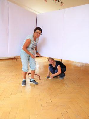 Vorbereitungen, Fränzi, Andrea Mutti
