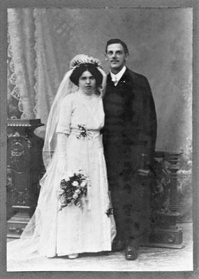 Adolf Fehr, Babetta Tschudi, Hochzeit
