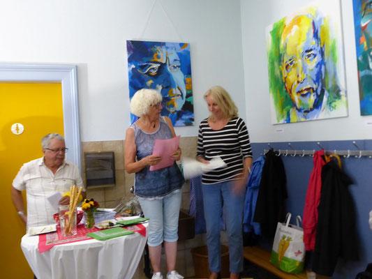 Vernissage Petra, Karin Fehr