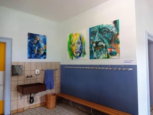 Bilder im Foyer, Petra Gärtner