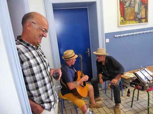 Vernissage Musiker Martin Lehmann Biscuit Boys