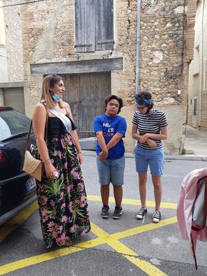 Laura Solana rencontre les jeunes du LEC de l'association T21 des PO