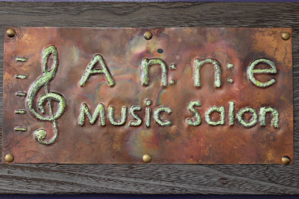 Anne Music Salon 看板