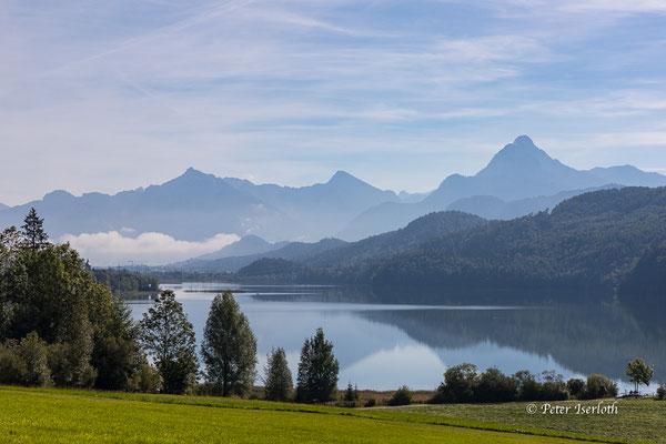 Am Weißensee im Allgäu, Deutschland