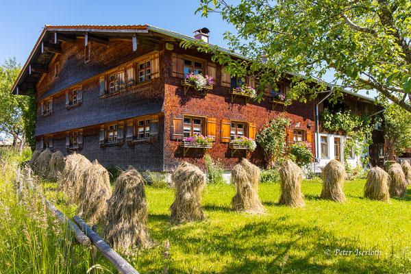 Ein Bauernhaus im Allgäu, Deutschland