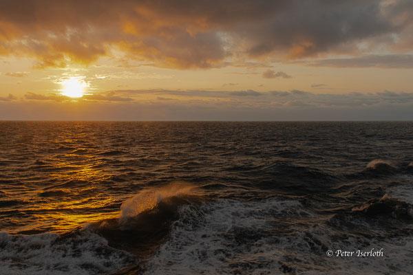ein schöner Morgen auf der Nordsee