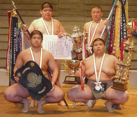 平成15年度 第54回全国高等学校相撲新人選手権大会 団体優勝