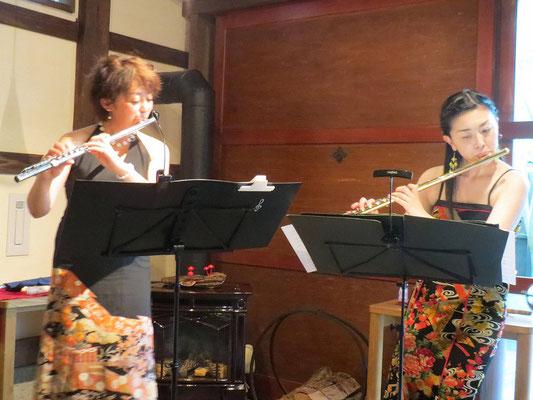 フルーティスト小山純子さんとぬぬのねコンサート
