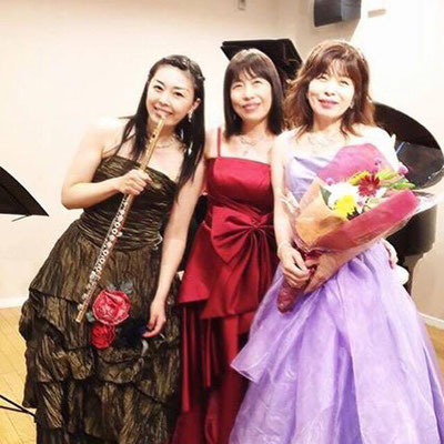 ソプラノ歌手 渡邊志津子さんをお招きして。