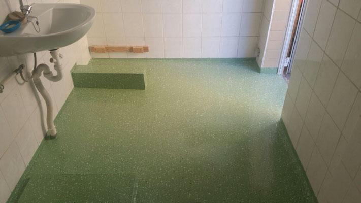 AFT Bodenbeschichtung in Kindergärten