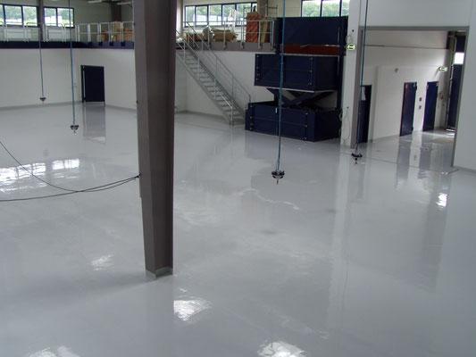 AFT Beschichtung großflächig Fußboden