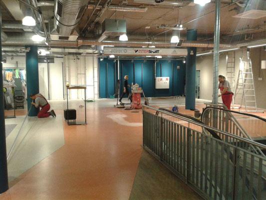 AFT - Beschichtung Einzelhandelsfläche