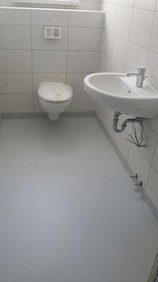 AFT Bodenbeschichtung im Sanitärbereich