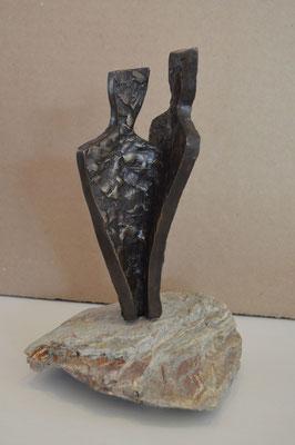 Geborgen - brons (unica) - verkocht