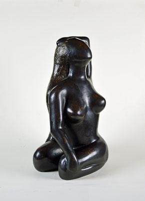 Yogini - brons, 30x20x20 cm - beschikbaar