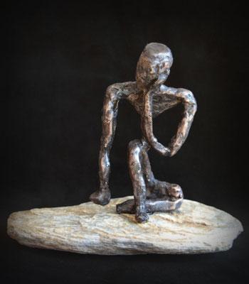 Drifting - brons (unica) - verkocht