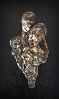 Samen - brons (unica) - verkocht