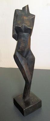 Muze - brons 25 cm  -beschikbaar