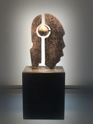 Mind-ful - brons (unica) - verkocht
