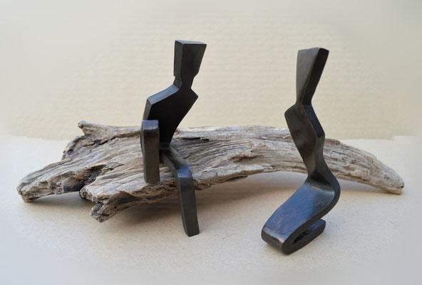 Just you and me - brons en wrakhout (unica) - beschikbaar
