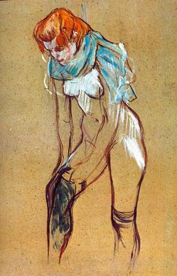 toulouse lautrec, foulard, carré de soie, twill de soie, fanfaron, mon petit fanfaron
