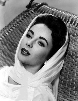 foulard, carré de soie, cinema, elizabeth taylor