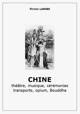 """Quelques photographies du cahier """"Théâtre, musique, cérémonies, transports, opium, Bouddha"""""""