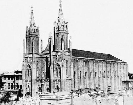 156. — Pékin. Cathédrale du quartier de légations, au sud-ouest de la ville tartare. De construction récente (1905).