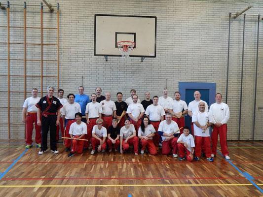 Erfolgreiche Prüfung  bei Master Ingo Hutschenreuther